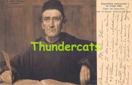 CPA ILLUSTRATEUR EXPOSITION UNIVERSELLE DE LIEGE 1905 EDMOND VAN HOVE UN SAVANT - Tentoonstellingen