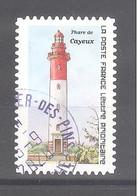 France Autoadhésif Oblitéré (Repères De Nos Côtes 2020 - Phare De Cayeux) (cachet Rond) - Used Stamps