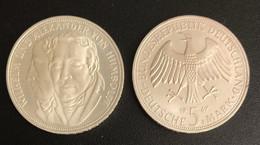 5 DM Gebrüder Humboldt 1967 Bankfrisch - 5 Mark