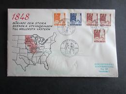 Sweden FDC 1948 - Pionjärjubileet - FDC