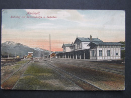 AK MARIAZELL Bahnhof 1907  /////   D*46801 - Mariazell