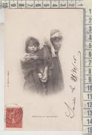 Scènes Et Types Tunisie - Femme Bédouine Et Son Enfant - Tunisia