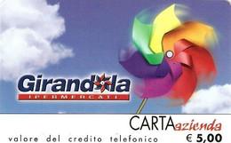 *CARTA AZIENDA 2° Tipo: GIRANDOLA - Cat. 143* - NUOVA (MINT) (FT) - Unclassified