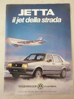 # ADVERTISING PUBBLICITA' JETTA VOLKSWAGEN IL JET DELLA STRADA - 1986 -  OTTIMO - Werbung