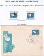 POLAND 1959 World Peace Fi 975 Used - Usados