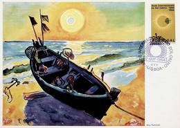 1964 Portugal Anos Internacionais Do Sol Calmo (1964/65) - Maximumkarten (MC)