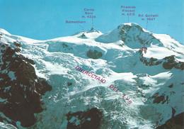 (AO) MONTE ROSA, PIRAMIDE VINCENT, GHIACCIAIO DEL LYS - Cartolina Nuova, Neve - Unclassified