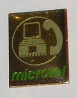 Pin's TELEPHONE MICROTEL - France Telecom