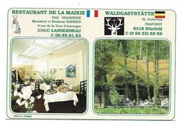 HOTELS & RESTAURANTS - Restaurant De La Mairie Landerneau - Walsgastatte Hunfeld - Hotels & Restaurants