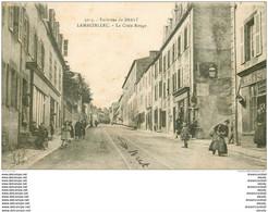 29 LAMBEZELLEC. La Croix Rouge 1919 Tabac Vins Spiritueux - Brest