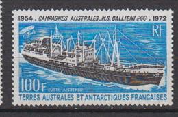 1973-TAAF -P.A. N°29** BATEAU GALLIENI - Airmail