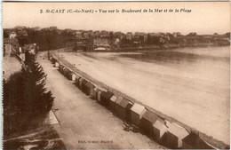 61kt 543 CPA - SAINT CAST - VUE SUR LE BOULEVARD DE LA MER - Saint-Cast-le-Guildo