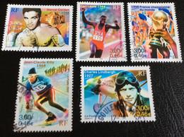 TIMBRES   DE    FRANCE   N° 3312  A  3316         OBLITÉRÉS  ( LOT:4979 ) - Used Stamps