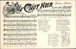 Chanson CPA Le Chat Noir, Aristide Bruant - Vestuarios