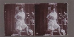 Stereofoto (photo Stéréo) -erotische Darstellung 1855 - Stereoscoop