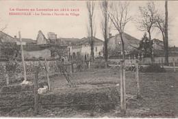 N°7773 R -cpa Remenovile -les Tombes à L'entrée Du Village- - Sonstige Gemeinden