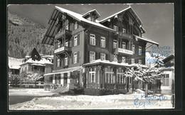 AK Zweisimmen, Hotel Terminus Im Winter - BE Bern