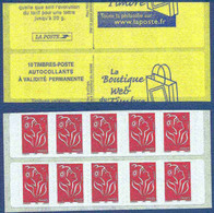 Carnet 3744-C2 - Marianne De Lamouche - Découpe Décalée - Couverture Boutique Du Web - Standaardgebruik