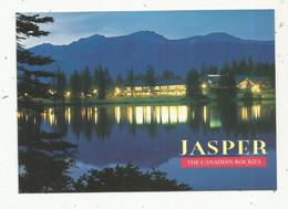 Cp , CANADA , JASPER , The Canadian Rockies ,  écrite - Jasper