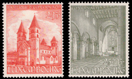 Luxembourg 0473/74** Basilique D'Echternach MNH - Nuovi