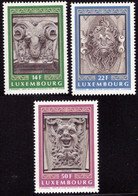 Luxembourg 1249/51** MNH Architecture - Unused Stamps