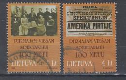 Lithuania 1999 Mi 702-3 Used Public Performance - Lituania