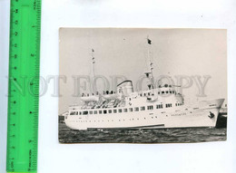 194293 POLAND Ship Mazowsze Old Photo - Schiffe