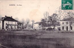 73 - Savoie - ALBENS - La Gare - Albens