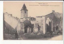 Carte France 54 - Guerre 1914 - Environs De Lunéville - Gellenoncourt Aprés Le Bombardement-  Achat Immédiat - Oorlog 1914-18