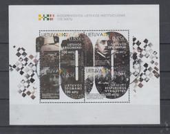 Lithuania 2018 Mi Bl 61 Used - Lituania