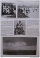 Un Chef Touareg à Paris - Moussa-ag-Amastane - Une Trombe Devant Le Crotoy - Page Original - 1910 - Historische Dokumente