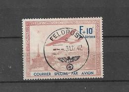 Variété France Guerre Ww2 Lvf Légion Volontaire Feldpost Couleurs Fade - Guerre