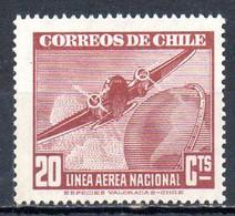 CHILI. PA 54 De 1941-2. Avion En Vol. - Flugzeuge
