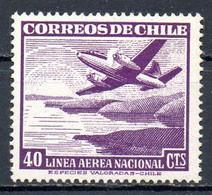 CHILI. PA 129 De 1950-3. Avion En Vol. - Flugzeuge