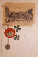 Cartolina - Egypte - Alexandrie - Place Mohamed Ali - 1902 - Otros