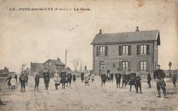 CALONNE Sur La LYS  La Gare - Andere Gemeenten