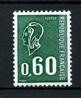 1815 - 60c Vert Béquet - Taille-douce - Neuf N** - Très Beau - 1971-76 Marianne Of Béquet