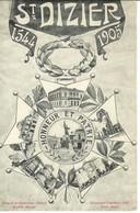 Cpa 52 Saint Dizier , Multivues Et Armoiries De La Ville , Non Voyagée - Saint Dizier