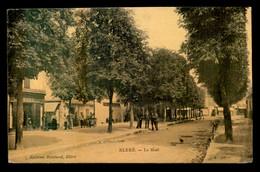 49 - BLERE - LE MAIL - CARTE ANCIENNE TOILEE ET COLORISEE - Sonstige Gemeinden