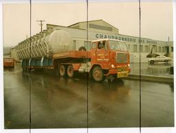 2 PHOTOGRAPHIES . Devanture De La Chaudronnerie Des ROCHES. Camion  L MASSOT LYON Transport - Auto's