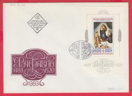 253481 / Bulgaria FDC 1983 -  The 500th Anniversary Of The Birth Of Raphael, 1483-1520 , Sistine Madonna , Bulgarie - FDC