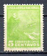 CHILI. PA 23 De 1931. Condor. - Adler & Greifvögel