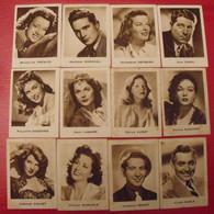 12 Images Chocolat Kwatta, épinay. Lot 311. Album Acteurs Célébrités. Vers 1960. - Other