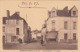GUEMENE-PENFAO. Rue De Redon - Guémené-Penfao