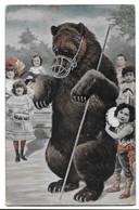 MONTREUR D'OURS - TROUPE D'ENFANTS - Bears