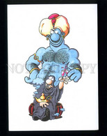 209511 Switzerland Advertising BASEL RALF KONIG Gin Drink With A Monk - Publicité