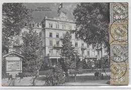 SUISSE - 1905 - BEL AFFRANCHISSEMENT Sur CARTE De UNTERSEEN => CHOMELIX (HAUTE LOIRE) - Briefe U. Dokumente