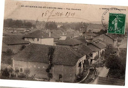SAINT ETIENNE DE SAINT GEOIRS VUE GENERALE - Other Municipalities