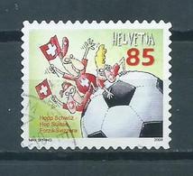2008 Switserland Voetbal,soccer,football Used/gebruikt/oblitere - Gebraucht