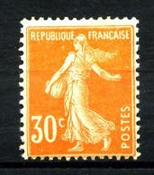 141  - 30c Orange Semeuse - Neuf N** - Très Beau - 1906-38 Sower - Cameo